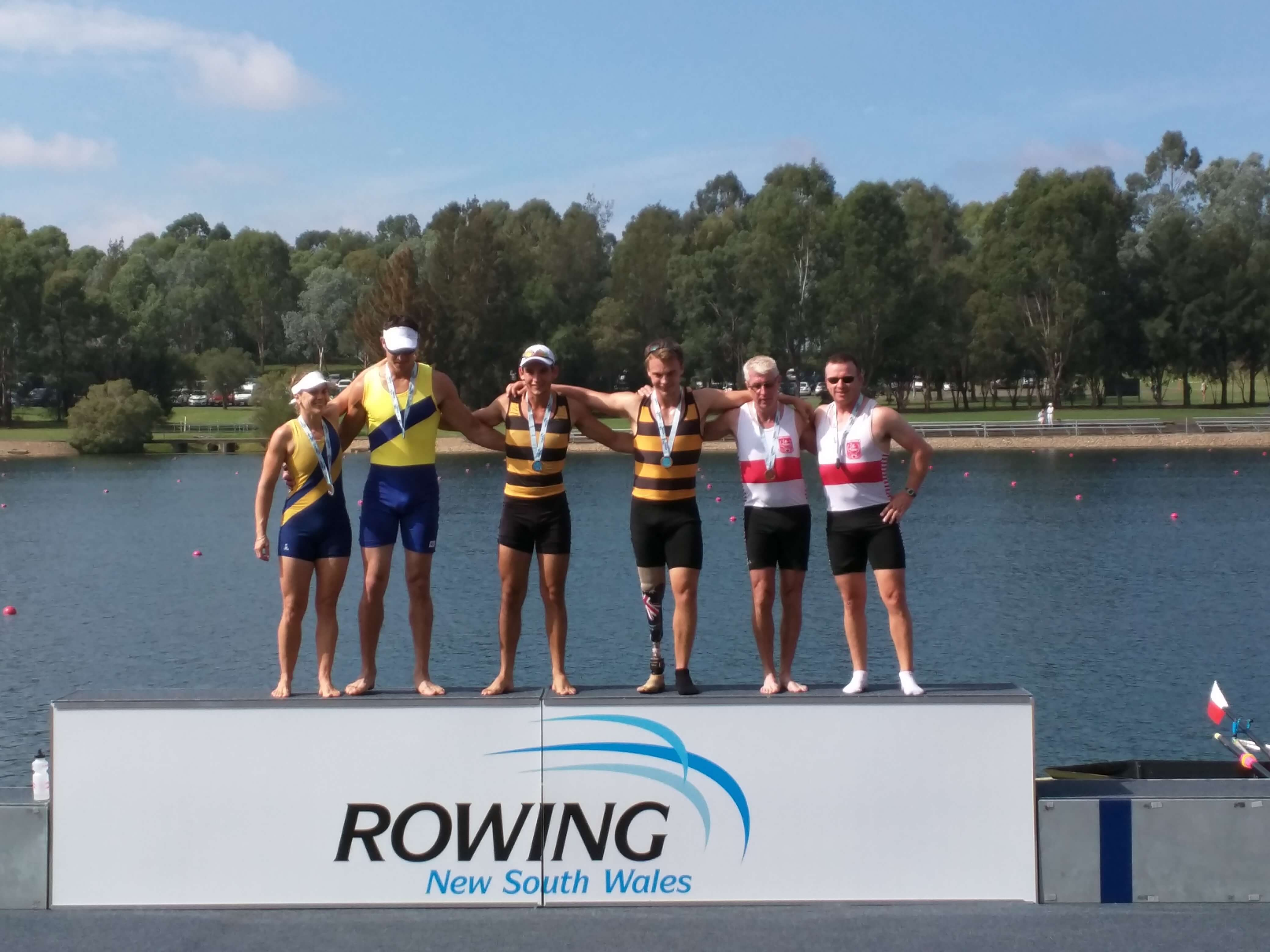 Balmain Rowing Club, St George Rowing Club and Canberra Rowing Club all have strong para-rowing programs. Your club can build one too!