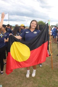 Matilda as the indigenous flag-bearer